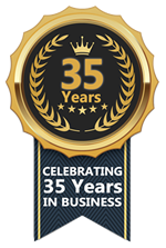 Celebrating 35 years in business